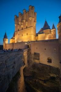 Segovia Alcazar Nocturna