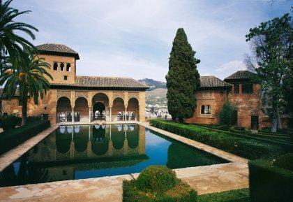 GRANADA. Alhambra. El Partal.