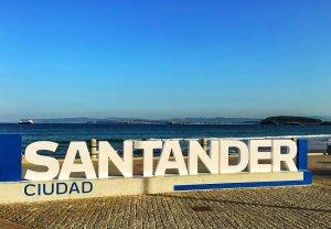 SCB Spain Convention Bureau. Santander. Letras Santander Ciudad