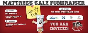 Brookland-Cayce to hold Mattress Sale Fundraiser September 8th