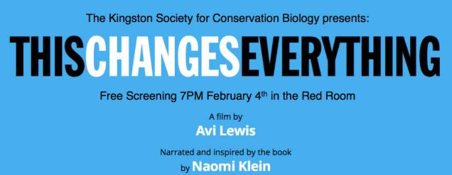 Screening of This Changes Everything