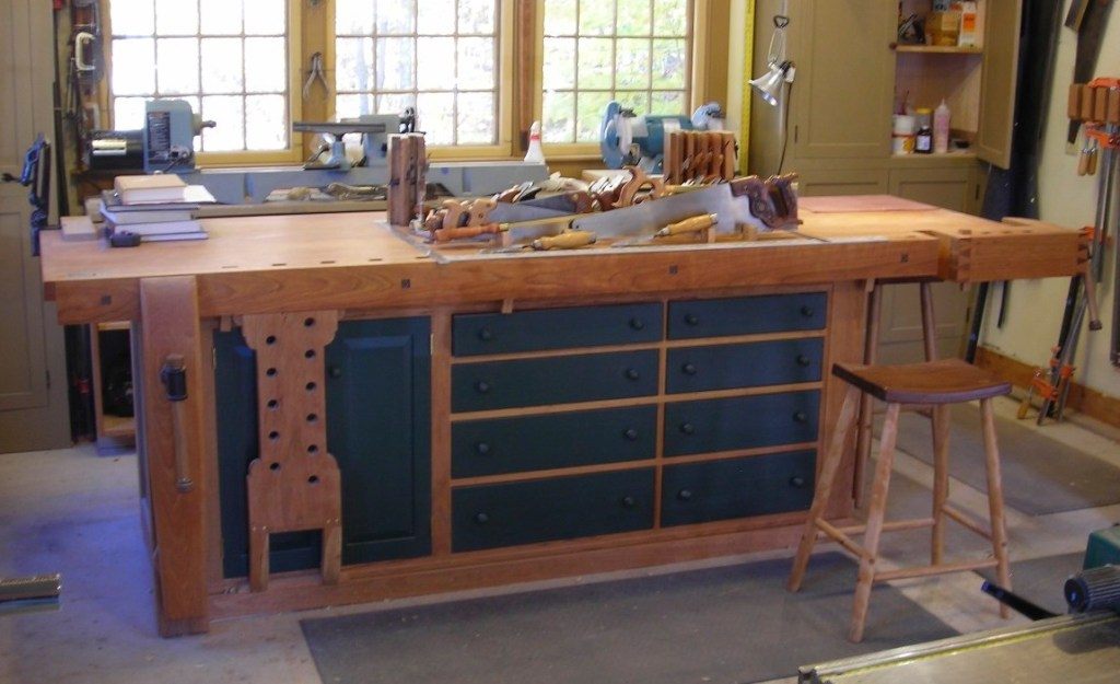 Workbenches And Our Work Stuart C Blanchard
