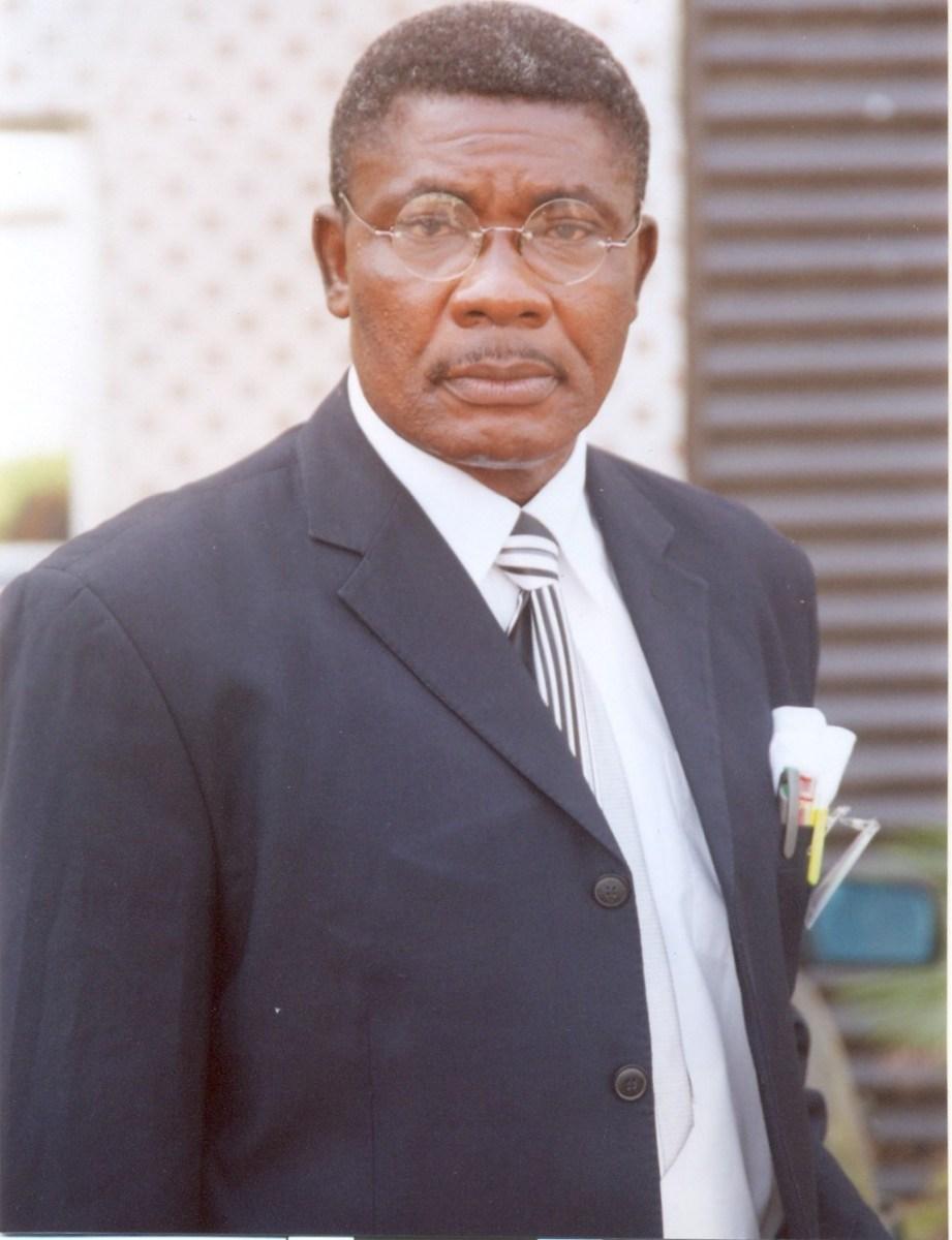 Prof. BEB Nwoke President of SCBS