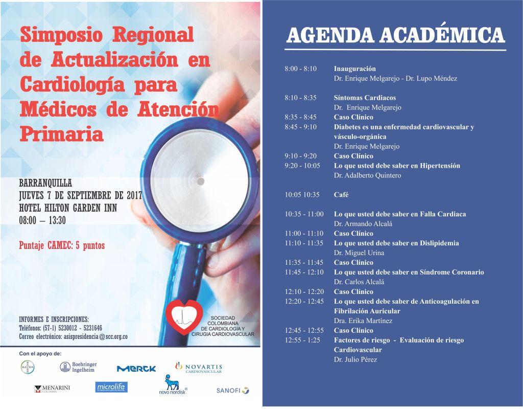 simposio regional de actualización en cardiología