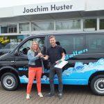 Unser Neuer - Danke an Andre´Revesz, VW AH Huster in Zwickau und ABE Werbung