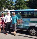 Busübergabe durch die Carnet GmbH