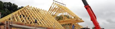 Les charpentes par SCCA Santa Cristina toiture et charpente à crissey chalon sur saone en saone et loire 71