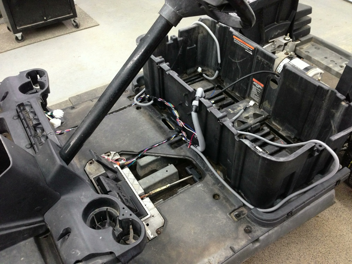 hight resolution of we installed a brand new oem club car precedent wiring harness