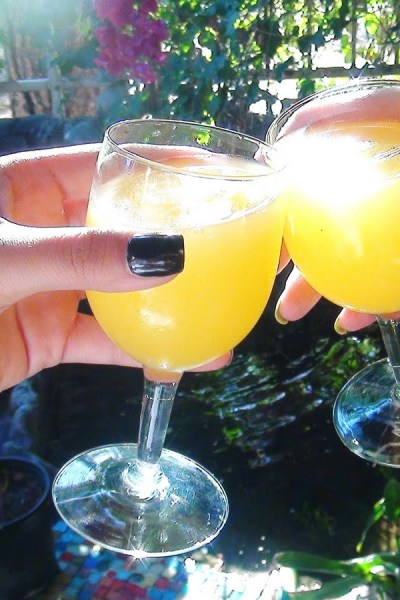 Cheers! To good friends…