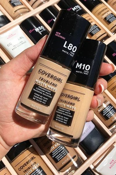 CoverGirl TruBlend Matte Made Foundation Review