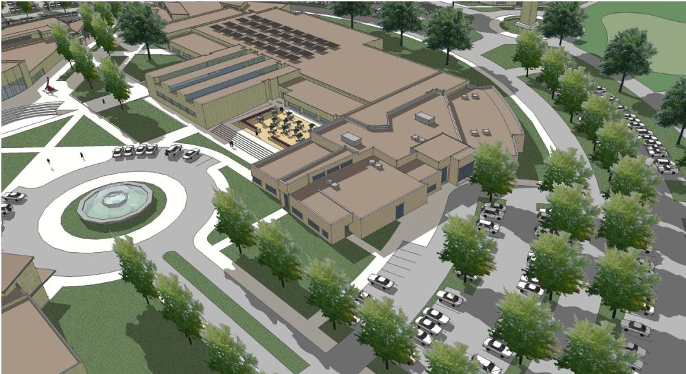 Hobble Building Allied Health Addition sm_aerial perspective[4]