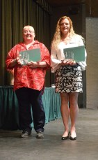 Twenty-five year award winners, from left: Joy Fosdick, Suzanne Campbell.