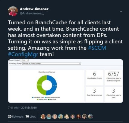 Enabling BranchCache in SCCM Quickly and Easily