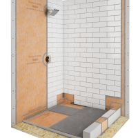 Shower with linear drain | schluter.com