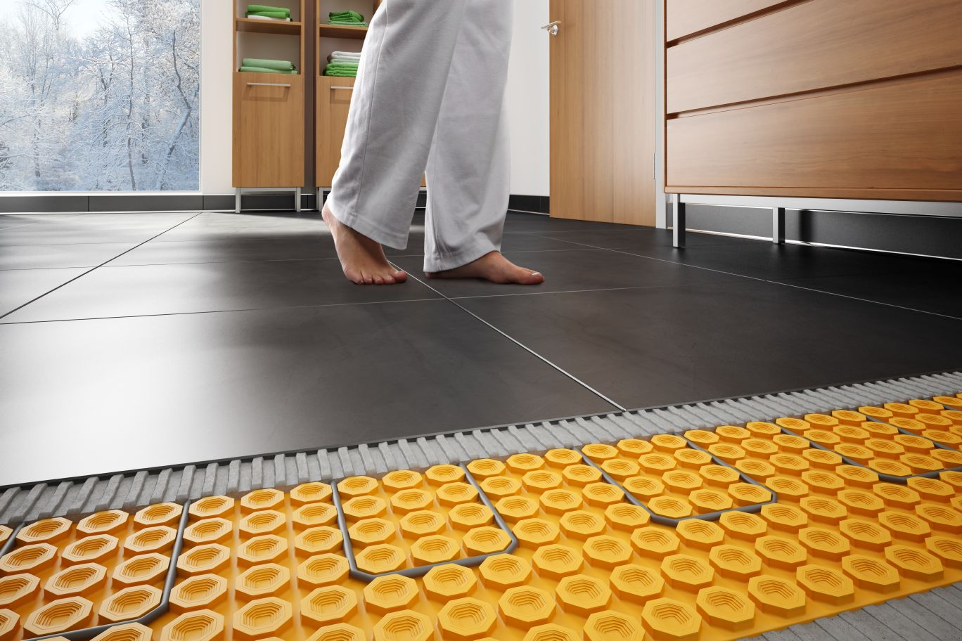 SchluterDITRAHEAT  Floor Warming  schlutercom