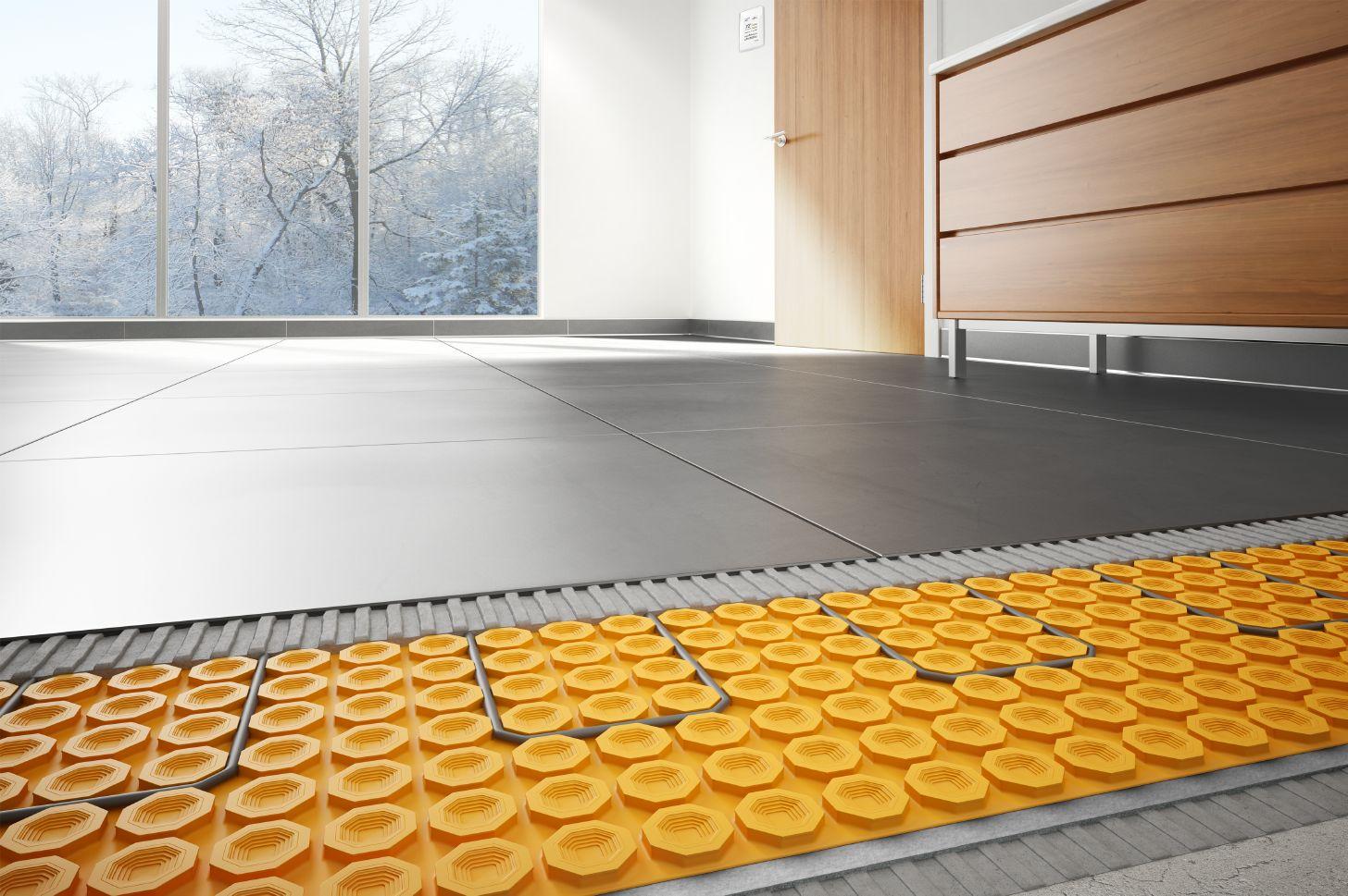 Heated Floors  schlutercom