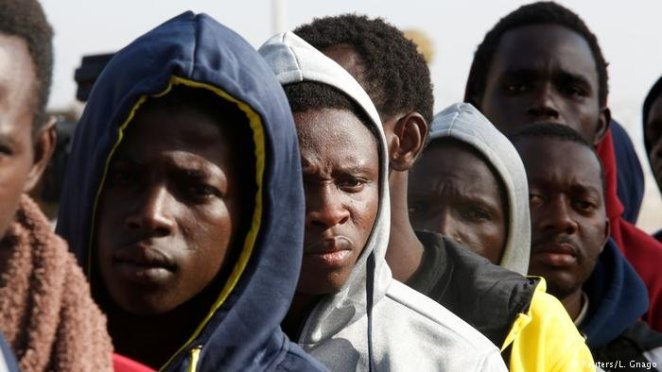 Image result for gambians in Europe
