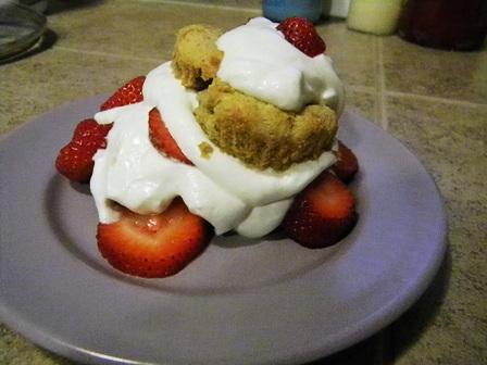 SCD Recipe: Strawberry Shortcake
