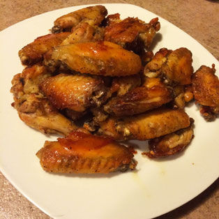 SCD Recipe: Easy Salt and Pepper Chicken Wings