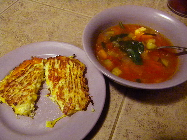 Cauliflower-Bread-Grilled-Cheese