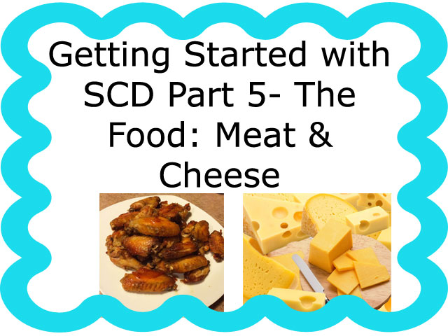 Getting Started on SCD Part 5: Illegal and Legal Foods – Meat and Cheese