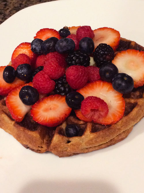 SCD Recipe: Fluffy Vanilla Waffles