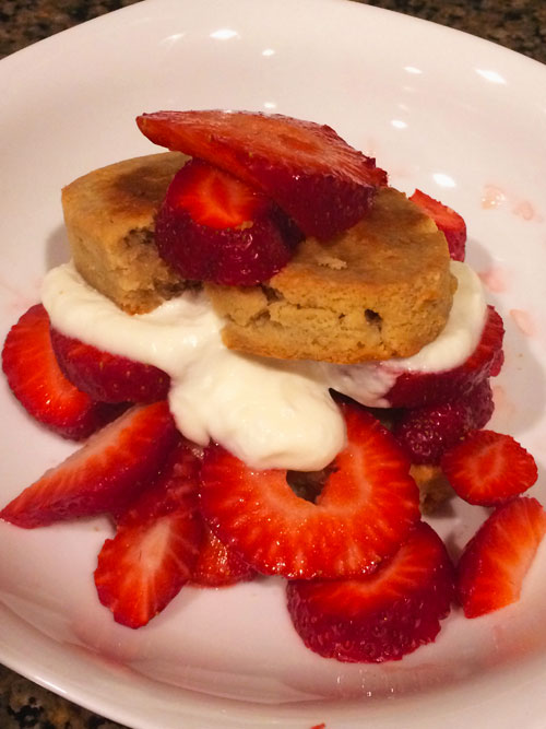 SCD Recipe: Shortcakes for Strawberry Shortcake