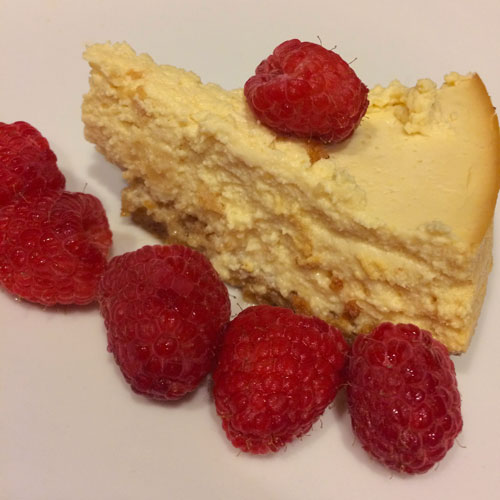 SCD Recipe: Honey Vanilla Cheesecake - Instant Pot