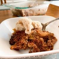 SCD Recipe: Easy Grain-Free Apple Crisp