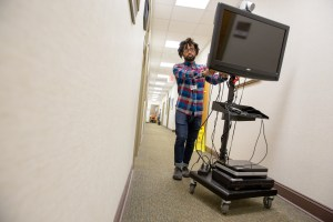 Telepsychiatry cart