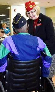 American Legion National Commander Denise Rohan Visits South Carolina Veterans