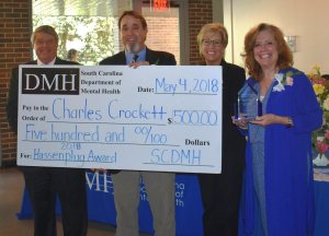Charles Crockett, Hassenplug Award winner
