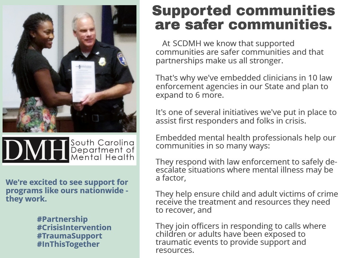 Supported Communites are Safer Communities