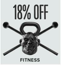 Save 18% on Fitness