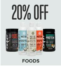 Save 20% on Foods