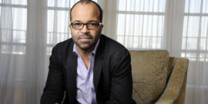 """In this Friday, Nov. 8, 2013 photo, Jeffrey Wright, a cast member in """"The Hunger Games: Catching Fire,"""" poses for a portrait at the Four Seasons Hotel in Beverly Hills, Calif.  The film releases Friday, Nov. 22, 2013. (Photo by Chris Pizzello/Invision/AP)"""