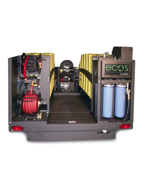 Ecos Trailer 7000 Closed Rear View