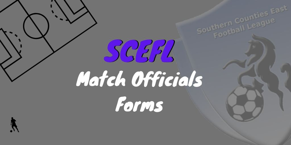SCEFL Match Officials Form