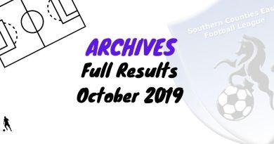 scefl season October 2019