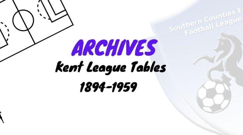 kent league tables scefl