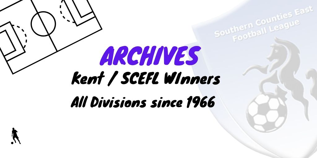 scefl kent league winners