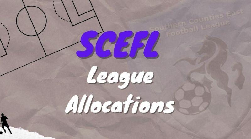 SCEFL League allocations constitution 2021/22