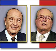 Image result for chirac le pen