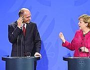GERMANY-ITALY-DIPLOMACY-MERKEL-LETTA
