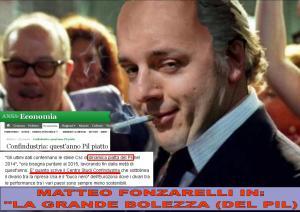 MATTEO FONZARELLI NE LA GRAN DEBOLEZZA DEL PIL