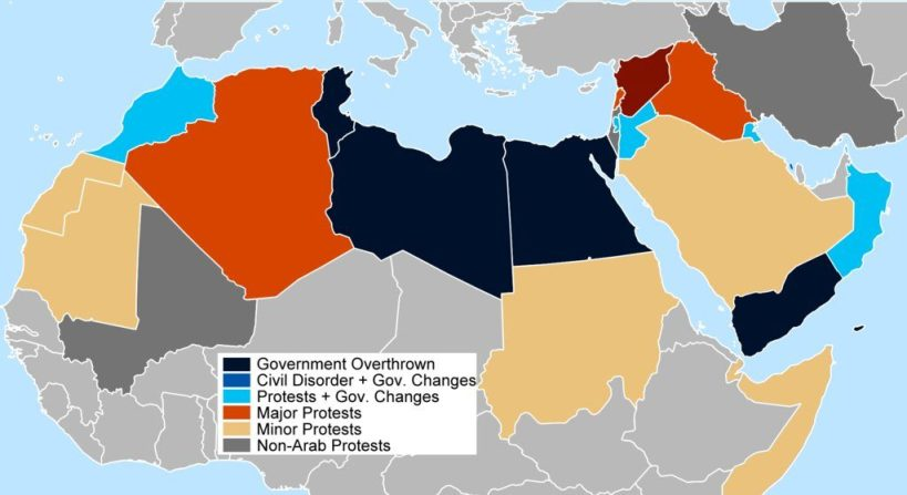 paesi arabi