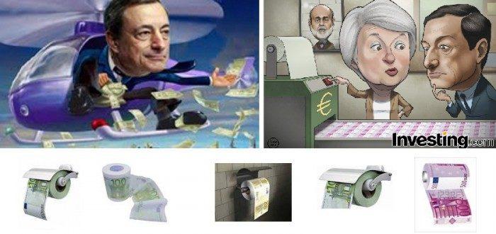 La BCE certifica con il QE che l'euro è solo un accordo di cambi fissi!  (di Antonio Maria Rinaldi)