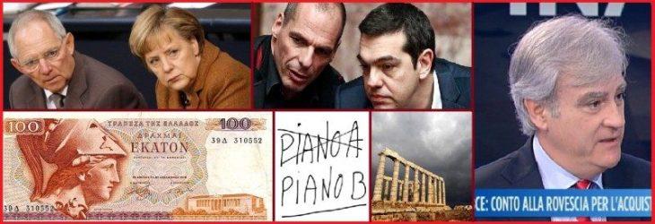 Mentre Varoufakis si piegava a Bruxelles, Tsipras incaricava una Task force per l'uscita dall'euro. (di Antonio M. Rinaldi)