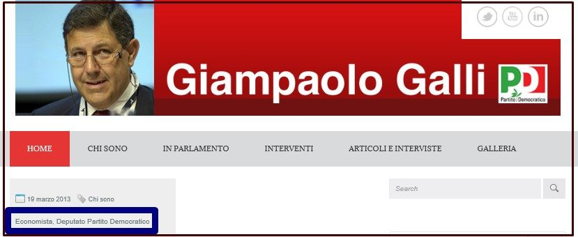 GIAMPAOLO GALLI 1