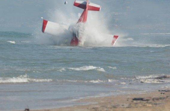 ALITALIA VOLA COME ITALIA aereo che cade